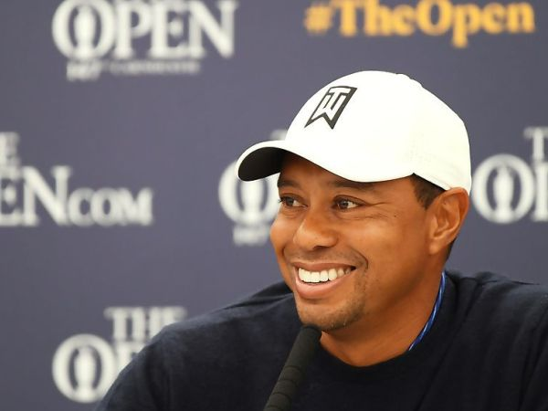 Tiger Woods Cemaskan Soal Cuaca di Carnoustie