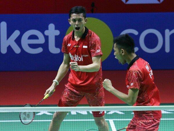 Ganda Putra Indonesia Kembali Harus Saling Bunuh di Babak Awal Kejuaraan Dunia