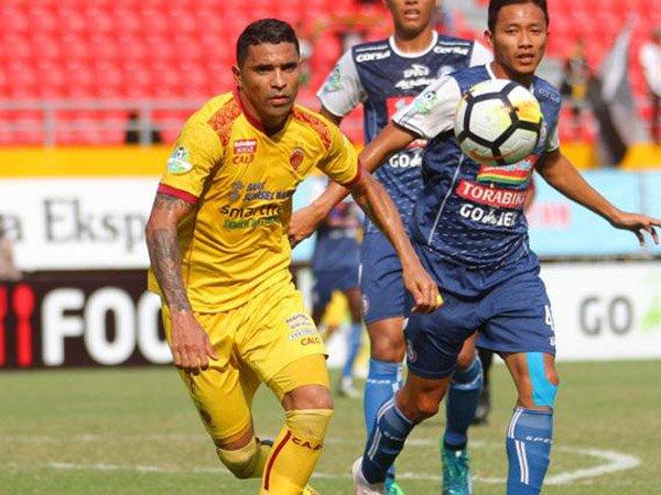 Dicukur Arema FC, RD Salahkan Fisik Pemain Sriwijaya FC