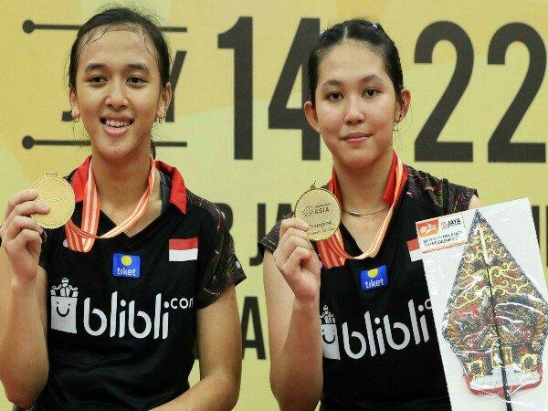 Febriana/Ribka Juara Asia Junior Championships 2018