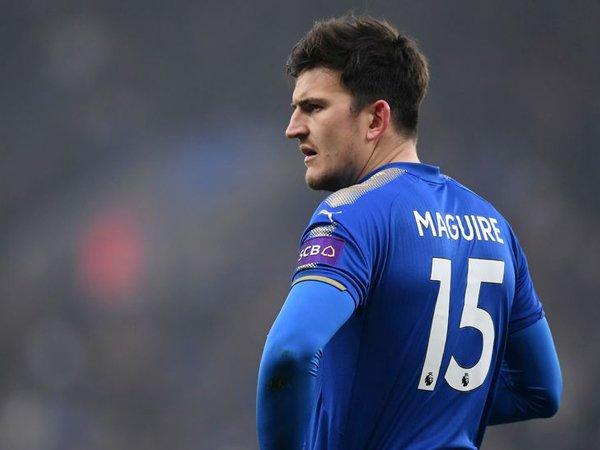 Dihubungkan dengan Manchester United, Begini Tanggapan Harry Maguire