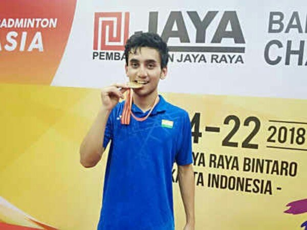 Lakshya Sen Juara Asia Junior Championships 2018