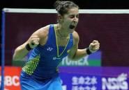 Luapan Emosi Carolina Marin Saat Raih Gelar Juara Dunia 2018
