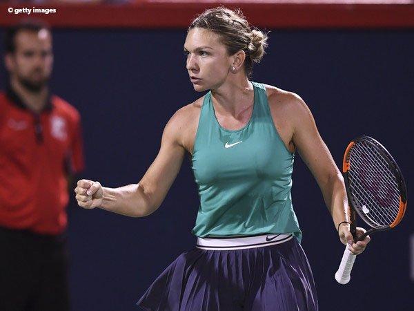 Simona Halep Terlalu Tangguh Bagi Venus Williams Di Montreal