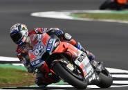 Hasil FP2 MotoGP Inggris: Andrea Dovizioso Tercepat, Rossi Turun Jauh