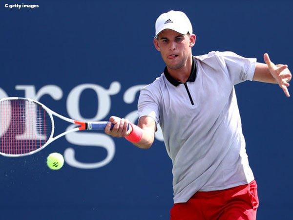Hasil US Open: Steve Johnson Paksa Dominic Thiem Lalui Laga Lima Set