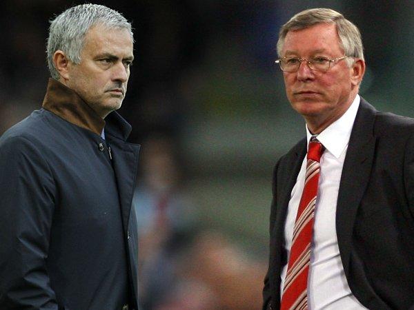 Robson Minta Media Berhenti Bandingkan Mourinho dan Sir Alex Ferguson