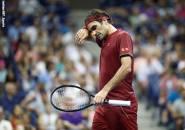 Roger Federer Berjuang Keras Dengan Kondisi Di Flushing Meadows