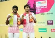 Hasil Final Hyderabad Open 2018, India Dua Gelar Juara, Indonesia Satu