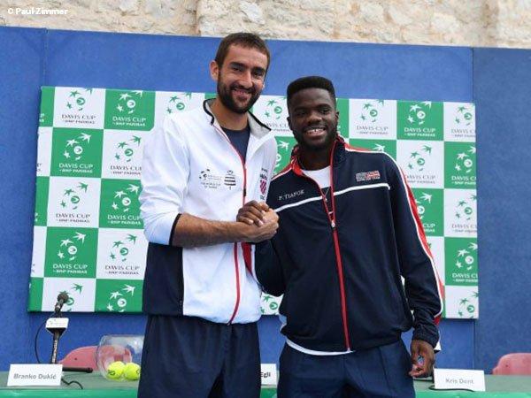 Frances Tiafoe Siap Tumbangkan Marin Cilic Dalam Debutnya Di Davis Cup