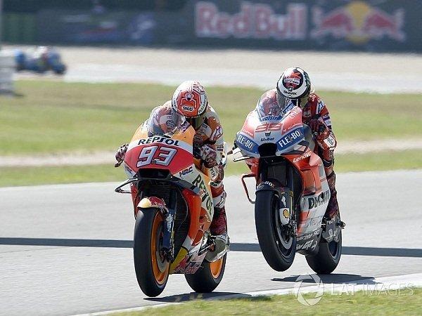 Marquez Merasa Beruntung Karena Ducati Telat Panas