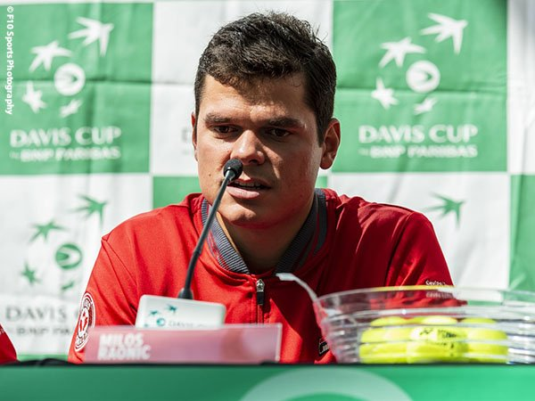 Milos Raonic Kembali Perkuat Kanada Di Davis Cup