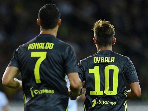 Pirlo Minta Dybala Ikuti Level Latihan Ronaldo
