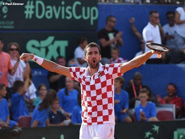 Hasil Davis Cup: Kroasia Unggul Sementara 2-0 Atas AS