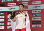 Kento Momota Juara Tunggal Putra Japan Open 2018