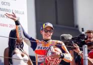Dijadikan Nama Tikungan di Sirkuit Aragon, Marquez Kalahkan Rossi?