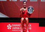 Tundukan Okuhara, Carolina Marin Juara Japan Open 2018