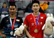 Kalahkan Tommy Sugiarto, Chou Tien Chen Juara Korea Open 2018