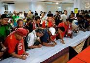 Suporter Sepak Bola Indonesia Lakukan Ikrar Damai