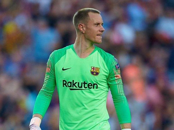 Ter Stegen Minta Barcelona Kembali Fokus untuk Hadapi Spurs