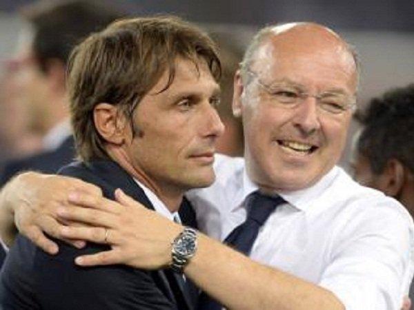 United Siap Bersaing dengan Milan Persatukan Kembali Conte dan Marotta