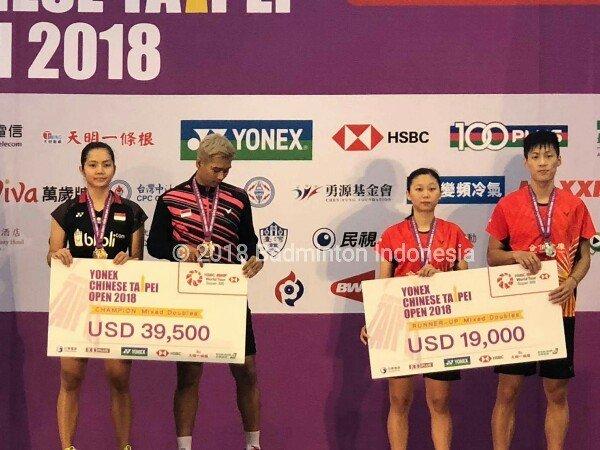 Alfian/Gischa Juara Taiwan Open 2018
