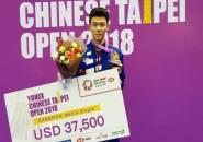 Kandaskan Wakil Jepang, Lee Zii Jia Juara Taiwan Open 2018