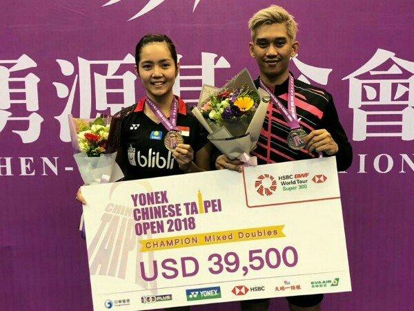 Hasil Final Taiwan Open 2018, Tuan Rumah Dua Gelar Juara