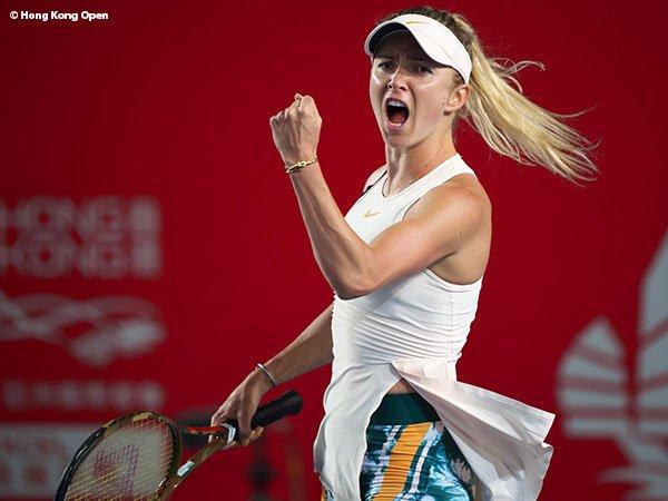 Demi Satu Tiket Ke Perempatfinal di Hong Kong, Elina Svitolina Bermain Tanpa Ampun