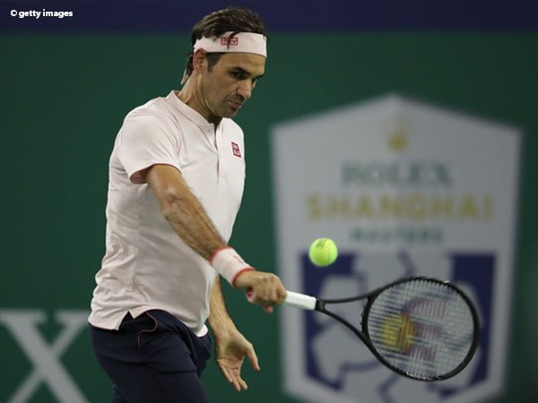 Lagi, Roger Federer Dipaksa Lalui Tiga Set Di Shanghai
