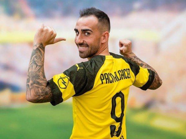 Paco Alcacer Setuju Empat Tahun Kontrak Di Dortmund