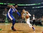 Jayson Tatum Bawa Celtics Atasi Perlawanan 76ers di Laga Pembuka