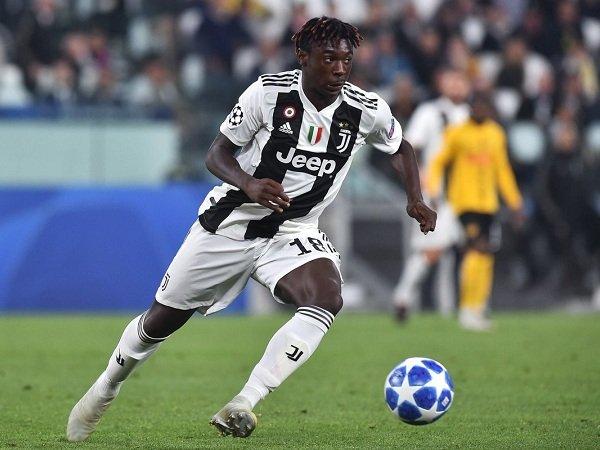 Juventus Berencana Ikat Moise Kean dengan Kontrak Baru