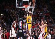 Akurasi Tembakan Buruk, Lakers Tumbang di Tangan Blazers