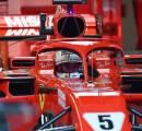Langgar Aturan, Vettel Diganjar Penalti Turun 3 Posisi
