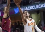 Trae Young Bawa Atlanta Hawks Ungguli Cleveland Cavaliers
