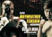Floyd Mayweather Lawan Tenshin Nasukawa di Malam Tahun Baru