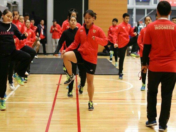 Ini Cara Tim Indonesia Atasi Jetlag Dan Cuaca Dingin di Kejuaraan Dunia Junior