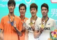 Lee Yong Dae/Kim Gi Jung Juara Ganda Putra Macau Open 2018