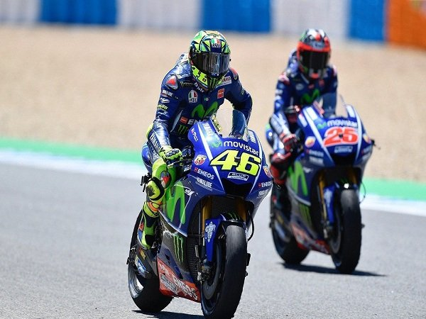 Yamaha Bantah Beri Perlakuan Khusus kepada Rossi