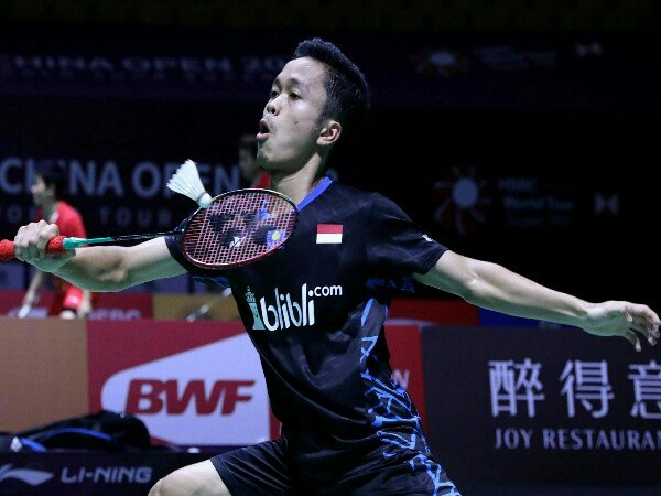 Kalahkan Jonatan, Anthony ke Perempat Final Fuzhou China Open 2018