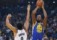 Tanpa Stephen Curry, Warriors Masih Ungguli Permainan Nets