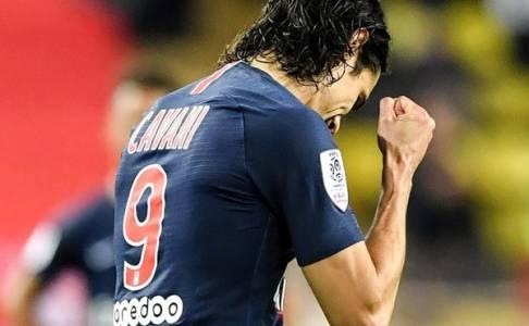 Bobol Gawang AS Monaco Tiga Kali, Cavani Akhirnya Buka Puasa