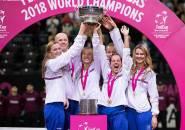 Hasil Fed Cup: Ceko Kandaskan Juara Bertahan, AS Dengan 3-0 Di Final