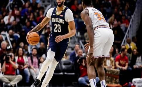 Anthony Davis Gemilang, Pelicans Hentikan Knicks