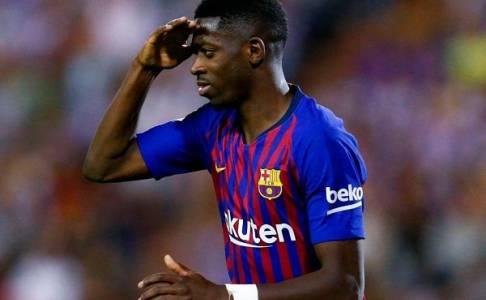 Barcelona Bantah Ousmane Dembele Tuju Liverpool