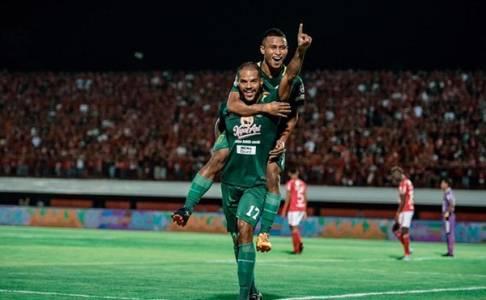 Duet Osvaldo Haay – David da Silva Hancurkan Bali United