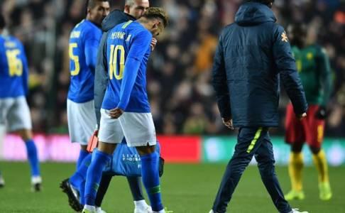 Choupo-Moting Berharap Cedera Neymar Tak Serius