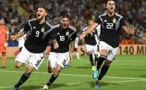 Icardi dan Dybala Sama-Sama Sukses Cetak Gol Perdana untuk Argentina