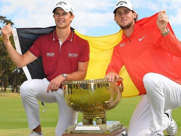 Duo Thomas Antar Belgia Sabet Juara Dunia Golf